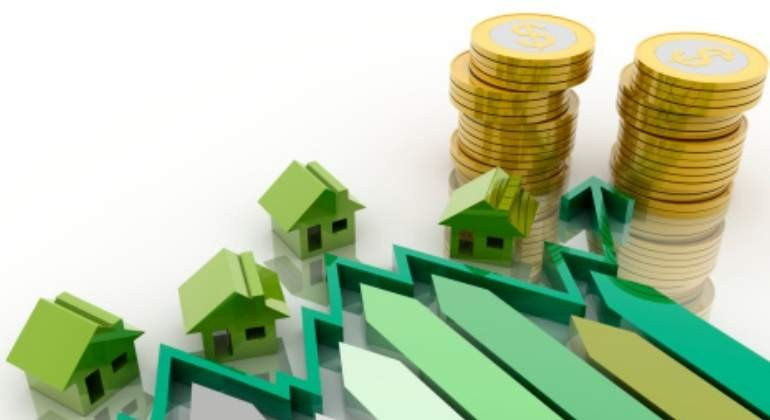vivienda-grafico-verde-dinero-getty